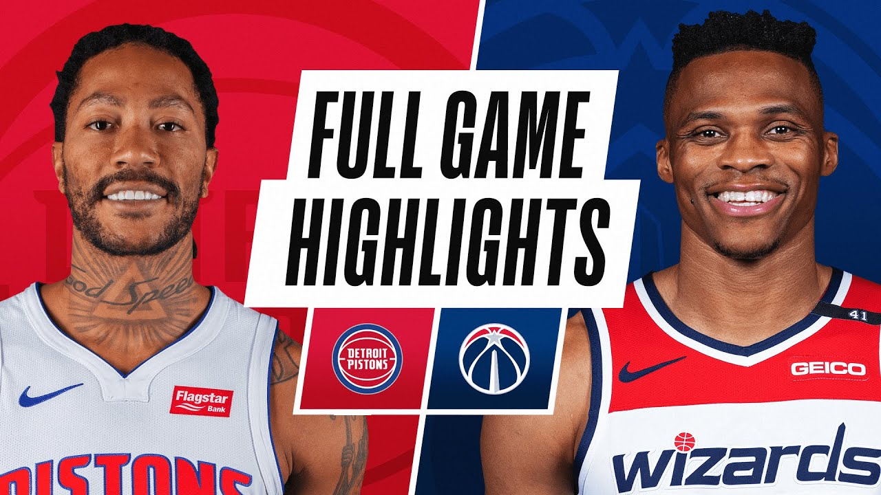 PISTONS at WIZARDS | FULL GAME HIGHLIGHTS | December 19, 2020