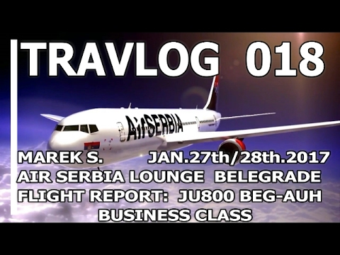 AIR SERBIA BUSINESS CLASS BEG-AUH A319 AND PREMIUM LOUNGE TRAVLOG 018