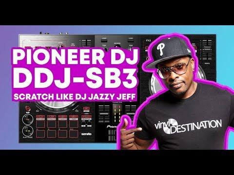 Pioneer DJ DDJ-SB3 Lets You Scratch Like Jazzy Jeff