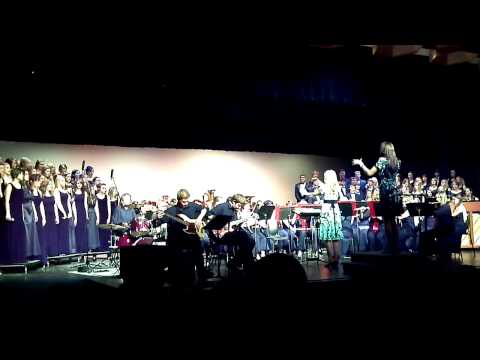 Bohemian Rhapsody - Pekin Community High School Band and Choir