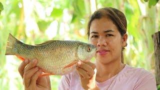 Amazing Cooking Fish Sour Soup Delicious Recipe -  Fish Sour Soup Recipes -  Primitive Technology