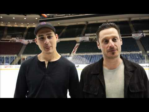 Interview with Swiss NHL players Mark Streit & Nino Niederreiter