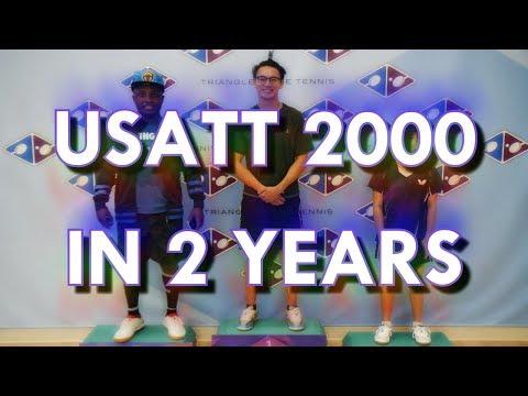 Reaching USATT rating 2000 in under 2 years