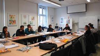 Интеграционные курсы. Учим немецкий язык в Volkshochschule Marburg.