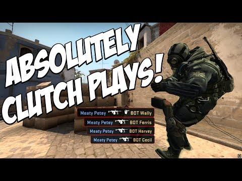 CSGO | ABSOLUTELY CLUTCH PLAYS!