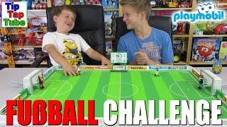 DIE PLAYMOBIL FUßBALL CHALLENGE - TipTapTube-Kinderkanal
