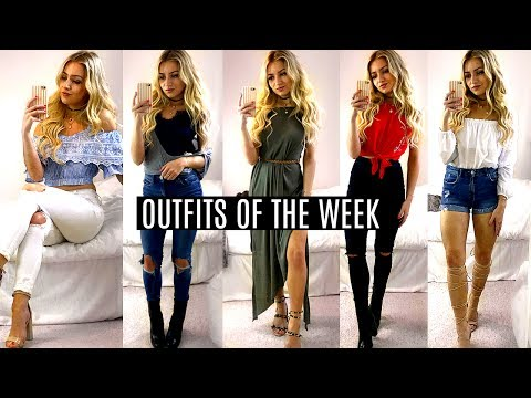 Outfits Of The Week / British Summer 2017!