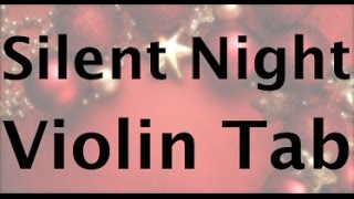 Learn Silent Night on Violin - How to Play Tutorial