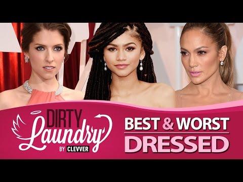 Best & Worst Dressed Oscars 2015 - Dirty Laundry