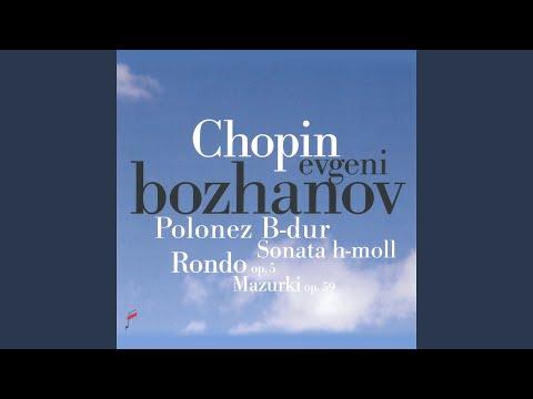 Sonata In B Minor, Op. 58: IV. Finale. Presto Non Santo
