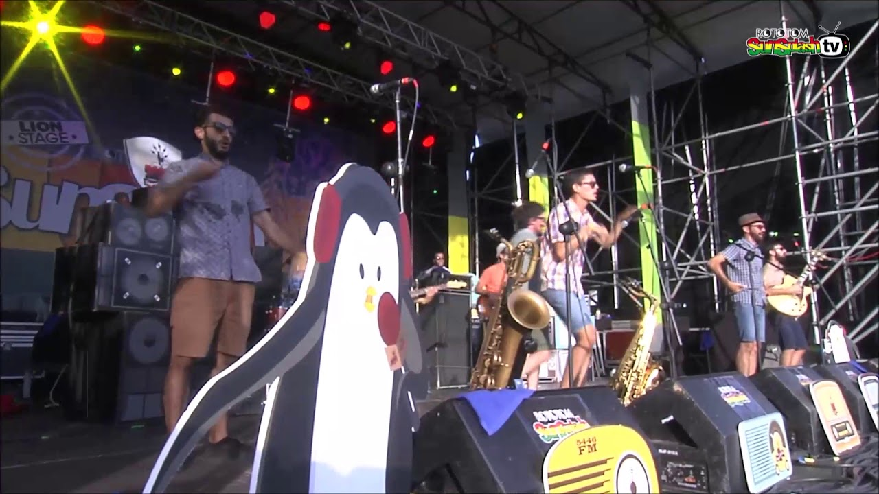 REGGAE PER XICS by THE PENGUINS live @ Lion Stage 2017