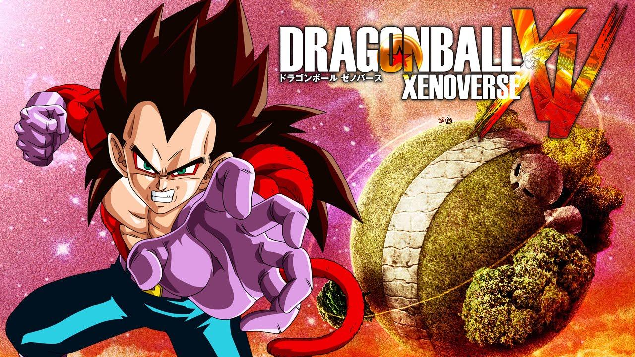 Dragon ball xenoverse super saiyan 4 vegeta mira the - Dragon ball xenoverse ss4 vegeta ...