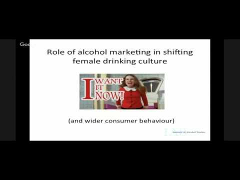 Women¹s drinking and social norms: Exploring the drivers behind cultural change