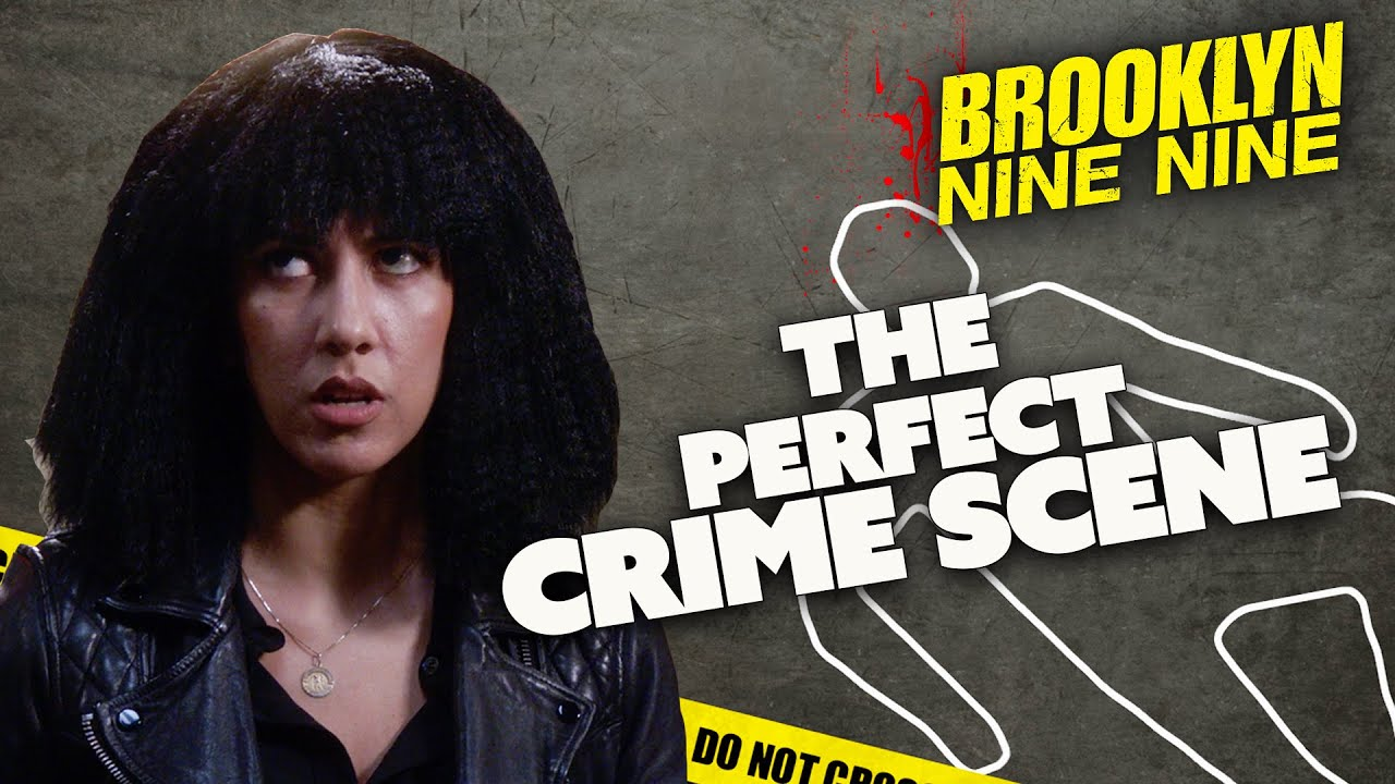 The Perfect CRIME SCENE | Brooklyn Nine-Nine | Comedy Bites