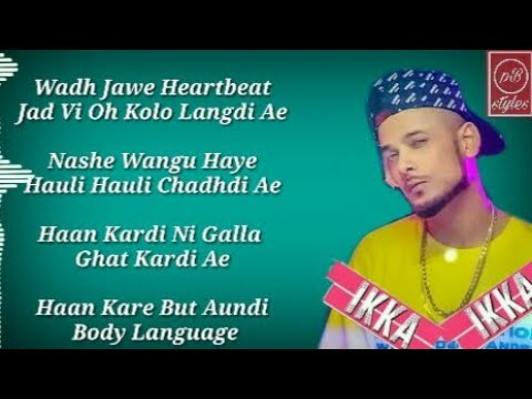 Heartbeat Lyrics – Akshay | Ikka | Latest punjabi song 2019