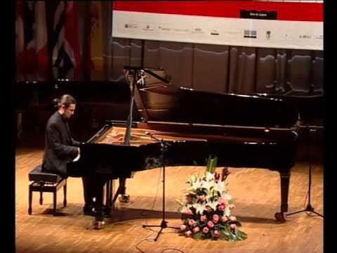 Ángel Cabrera piano Schumann, Granados, Prokofiev