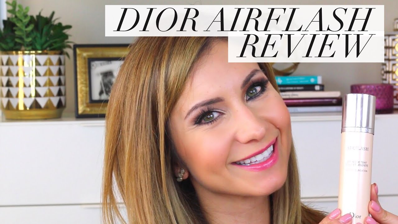 Dior Airflash Foundation Review and Demo | Is it as good as Airbrush ...
