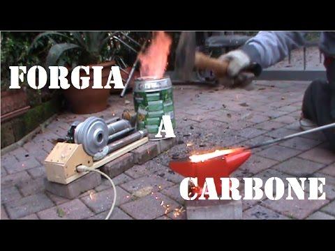 Fai Da Te - Come costruire una forgia a carbone