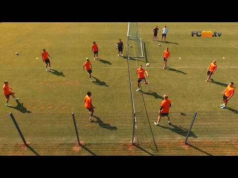 Video of the day. Shakhtar's training session shot using a quadcopter