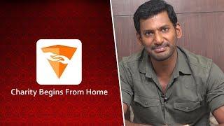 """ V Shall "" a Social Cause Mobile App by Vishal & Friends"