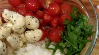 Bocconcini Mozzarella And Tomato Salad