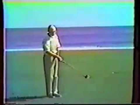 Ben Hogan slow motion sequence at Seminole Golf Club - Florida