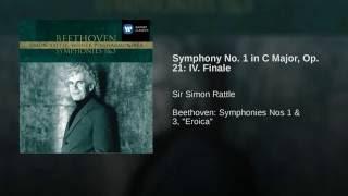 Symphony No. 1 in C, Op.21: IV. Adagio - Allegro molto e vivace