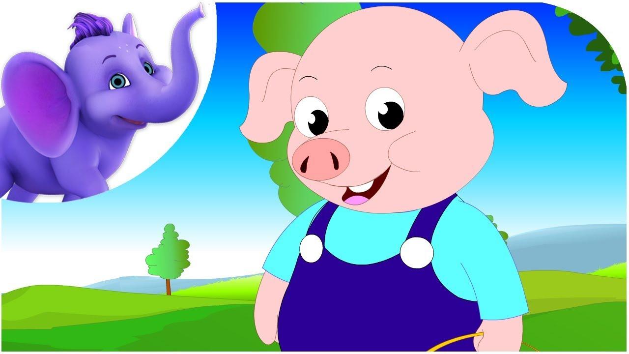Five Little Pigs Ebook