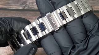 [친절사] TW2T69700 TIMEX Waterbury Traditional Automatic Stainless Steel Bracelet Watch