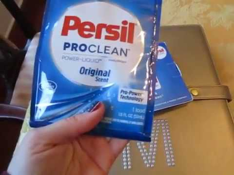 Unboxing Persil Pro Clean Laundry Detergent sample from ...