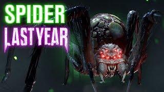 новый Маньяк Паук Last Year Spider - гемплей! Как дед бай дейлайт