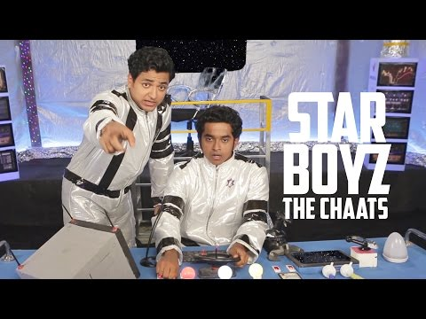 3 South Indian Boys in Space | STAR BOYZ | CHAATS Ep 1 #LaughterGames