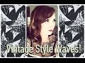 1940's Style Vintage Hair Soft Waves by CHERRY DOLLFACE