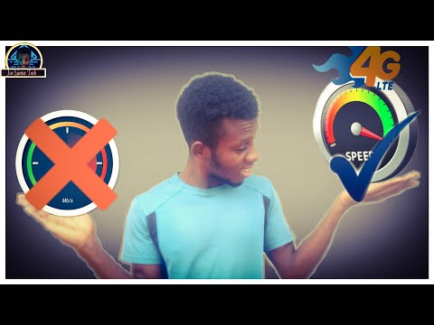 How to set mtn 4g lte apn settings manually - increase speed