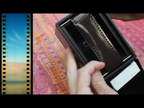 Loading 35mm Film Into an Antique Box Camera