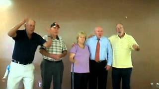 My daddy (& my aunt and uncles) singing the