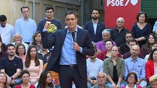 """Sánchez apela al voto de los indecisos: """"Un último esfuerzo"""""""