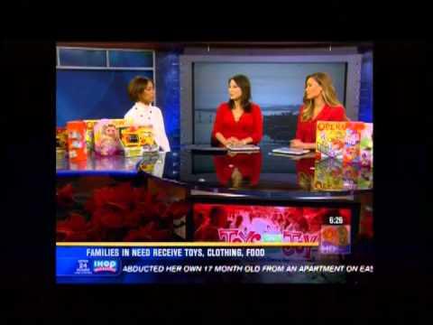 Rock Church - KFMB News 8 Toys for Joy w/ Margaret Diggs
