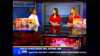 Rock Church - KFMB News 8 Toys for Joy w/ Margaret Diggs