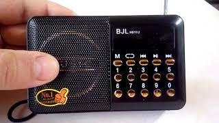 bJL H011U настройка радиостанций