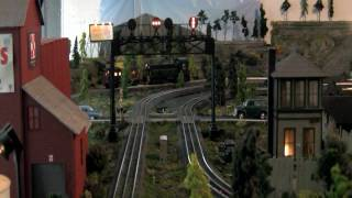 Pennsy Power on my O Gauge Layout