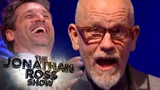John Malkovich Reads Sexy Patrick Dempsey Tweets - The Jonathan Ross Show