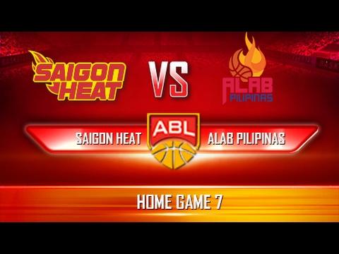 Giải Bóng rổ ABL | Game 13 | Saigon Heat vs Alab Pilipinas (26.02.17)