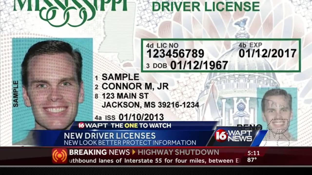 mississippi drivers license renewal tupelo