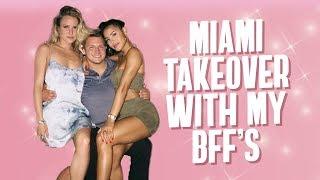 My Best Friends Try VEGAN PIZZA! (Miami Takeover)   Katya Elise Henry