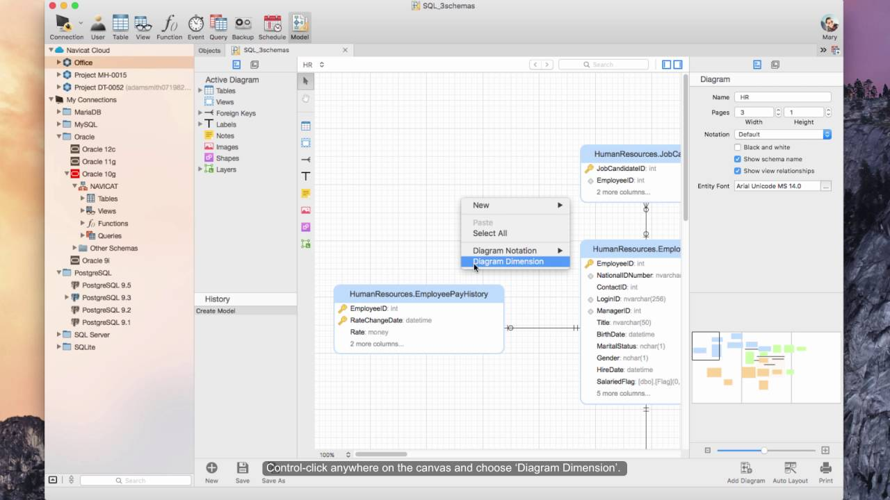how to adjust page setup diagram dimension and printing for your model mac os x  [ 1280 x 720 Pixel ]