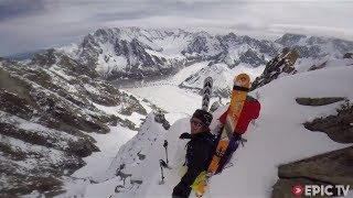 Here's how You Ski one of the Hardest Lines in the Alps Like a Boss   #STEEP, Ep. 1