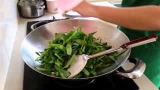 "Ajinomoto® Tasty Treats Contest: ""kampung Style Stir Fried Water Spinach"""