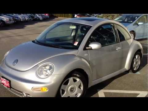 (SOLD) 2001 Silver Volkswagen Beetle GLS For Sale At Valley Toyota Scion