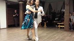 Gustavo Rosas and Gisela Natoli - Argentine Tango (2/4) tango (2014-01-05 Oulu, Finland)